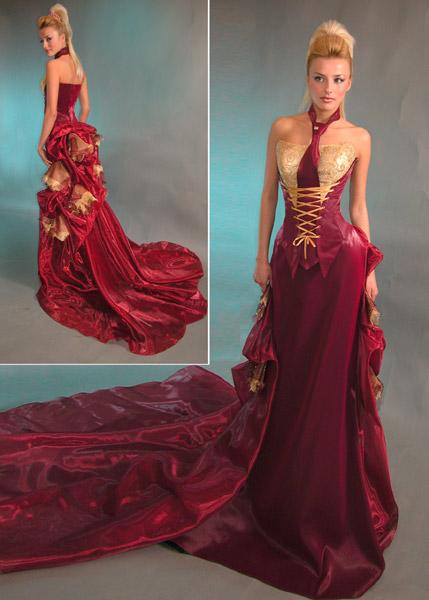Фото шикарное вечернее платье в пол